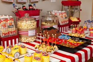 Vintage Movie Themed Birthday Party via Kara's Party Ideas KarasPartyIdeas.com #vintage #movie #party #birthday #planning #ideas #cake #decorations #favors #idea #supplies (38)