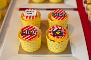 Vintage Movie Themed Birthday Party via Kara's Party Ideas KarasPartyIdeas.com #vintage #movie #party #birthday #planning #ideas #cake #decorations #favors #idea #supplies (36)