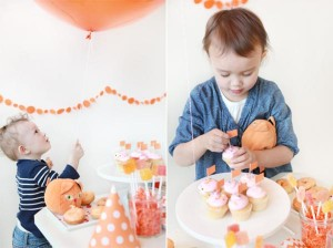 Orange Cat + Kitty Themed Birthday Party via Kara's Party Ideas karaspartyideas.com toddler craft idea (14)