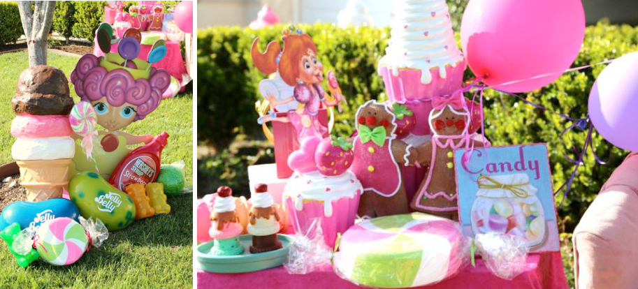 Candyland Candy Land themed birthday party via Kara's Party Ideas | KarasPartyIdeas.com #candyland #candy #land #sweet #shoppe #birthday #party #ideas #cake #decor #idea
