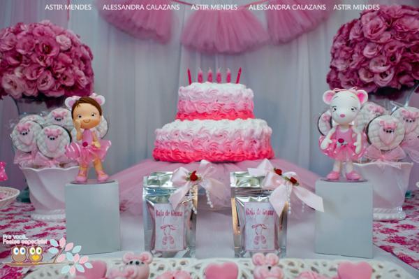 Karas Party Ideas Angelina Ballerina Ballet Girl Dance Birthday – Angelina Ballerina Birthday Invitations