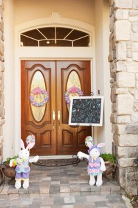 Pastel Easter themed spring party via Kara's Party Ideas karaspartyideas.com #classic #easter #pastel #party #spring #ideas #cake #decorations #tablescape #idea (64)