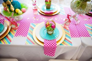 Pastel Easter themed spring party via Kara's Party Ideas karaspartyideas.com #classic #easter #pastel #party #spring #ideas #cake #decorations #tablescape #idea (59)