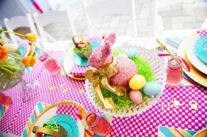 Pastel Easter themed spring party via Kara's Party Ideas karaspartyideas.com #classic #easter #pastel #party #spring #ideas #cake #decorations #tablescape #idea (56)