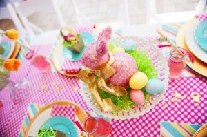 Pastel Easter themed spring party via Kara's Party Ideas karaspartyideas.com #classic #easter #pastel #party #spring #ideas #cake #decorations #tablescape #idea (55)