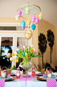 Pastel Easter themed spring party via Kara's Party Ideas karaspartyideas.com #classic #easter #pastel #party #spring #ideas #cake #decorations #tablescape #idea (54)