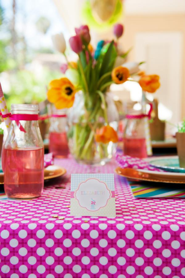 Kara S Party Ideas Pastel Easter Themed Spring Via