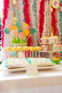 Pastel Easter themed spring party via Kara's Party Ideas karaspartyideas.com #classic #easter #pastel #party #spring #ideas #cake #decorations #tablescape #idea (48)