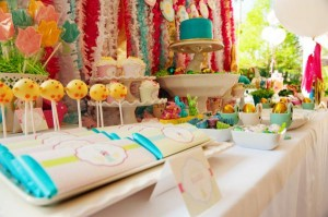 Pastel Easter themed spring party via Kara's Party Ideas karaspartyideas.com #classic #easter #pastel #party #spring #ideas #cake #decorations #tablescape #idea (47)