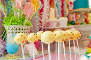 Pastel Easter themed spring party via Kara's Party Ideas karaspartyideas.com #classic #easter #pastel #party #spring #ideas #cake #decorations #tablescape #idea (46)