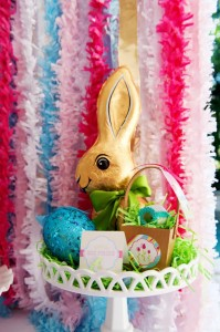Pastel Easter themed spring party via Kara's Party Ideas karaspartyideas.com #classic #easter #pastel #party #spring #ideas #cake #decorations #tablescape #idea (36)