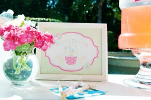 Pastel Easter themed spring party via Kara's Party Ideas karaspartyideas.com #classic #easter #pastel #party #spring #ideas #cake #decorations #tablescape #idea (31)