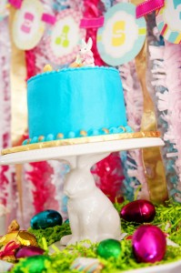 Pastel Easter themed spring party via Kara's Party Ideas karaspartyideas.com #classic #easter #pastel #party #spring #ideas #cake #decorations #tablescape #idea (28)