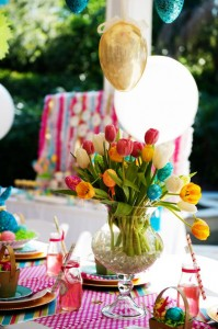 Pastel Easter themed spring party via Kara's Party Ideas karaspartyideas.com #classic #easter #pastel #party #spring #ideas #cake #decorations #tablescape #idea (22)