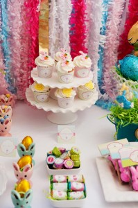 Pastel Easter themed spring party via Kara's Party Ideas karaspartyideas.com #classic #easter #pastel #party #spring #ideas #cake #decorations #tablescape #idea (16)