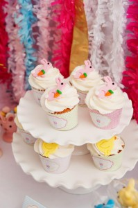 Pastel Easter themed spring party via Kara's Party Ideas karaspartyideas.com #classic #easter #pastel #party #spring #ideas #cake #decorations #tablescape #idea (15)