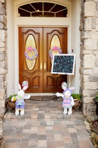 Pastel Easter themed spring party via Kara's Party Ideas karaspartyideas.com #classic #easter #pastel #party #spring #ideas #cake #decorations #tablescape #idea (4)