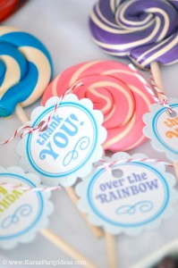 Rainbow birthday party printables party decor shop + party ideas via Kara's Party Ideas karaspartyideas.com (68)