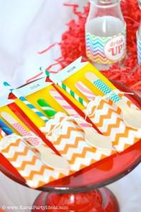 Rainbow birthday party printables party decor shop + party ideas via Kara's Party Ideas karaspartyideas.com (67)
