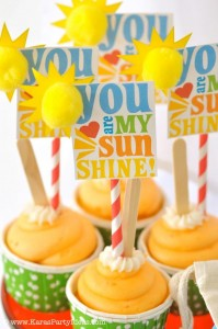Rainbow birthday party printables party decor shop + party ideas via Kara's Party Ideas karaspartyideas.com (62)