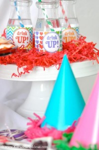 Rainbow birthday party printables party decor shop + party ideas via Kara's Party Ideas karaspartyideas.com (60)