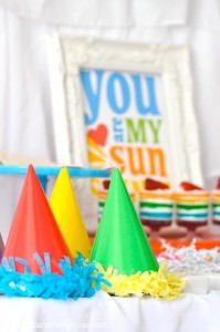 Rainbow birthday party printables party decor shop + party ideas via Kara's Party Ideas karaspartyideas.com (55)