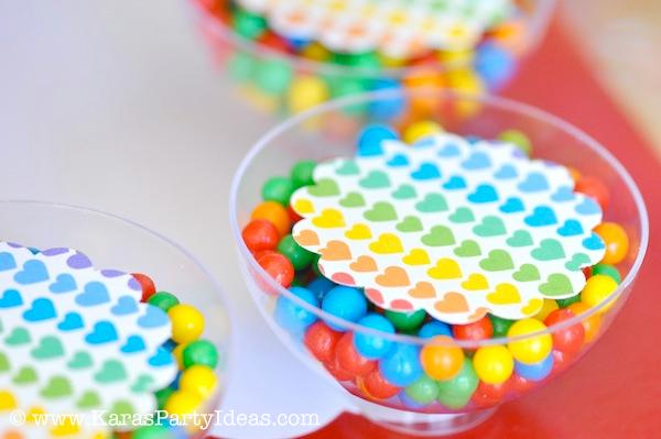 Gallery For gt Rainbow Candy Themed Cakes