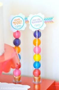 Rainbow birthday party printables party decor shop + party ideas via Kara's Party Ideas karaspartyideas.com (27)