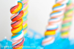 Rainbow birthday party printables party decor shop + party ideas via Kara's Party Ideas karaspartyideas.com (26)