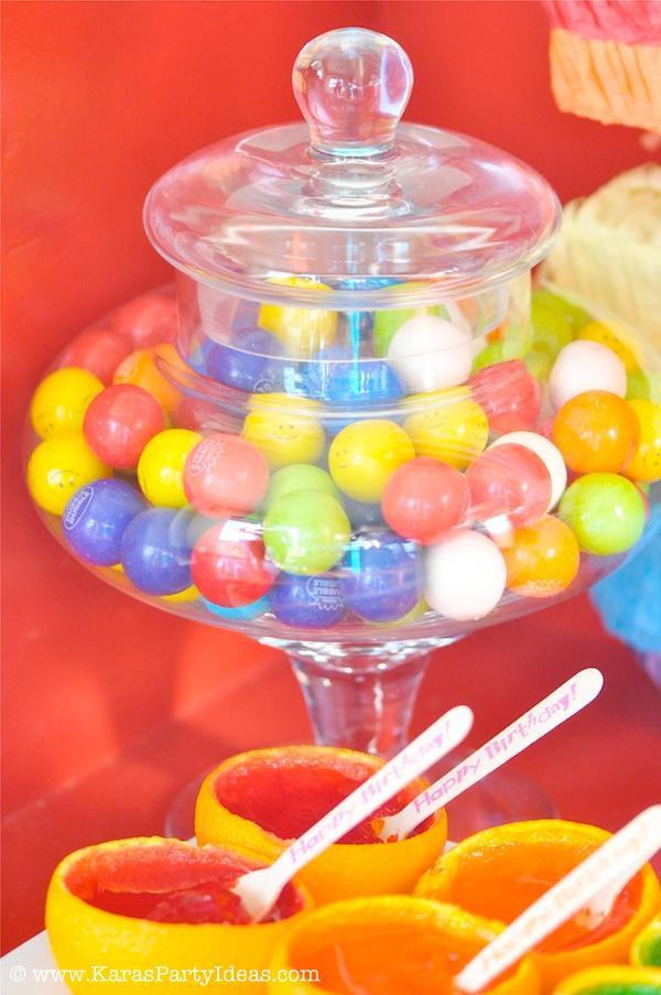 Kara S Party Ideas Rainbow Themed Birthday Party Kara S