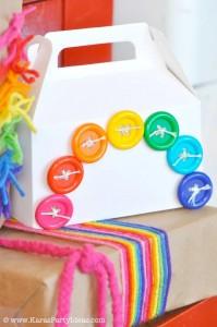 Rainbow birthday party printables party decor shop + party ideas via Kara's Party Ideas karaspartyideas.com (11)