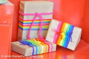 Rainbow birthday party printables party decor shop + party ideas via Kara's Party Ideas karaspartyideas.com (10)