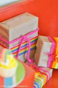 Rainbow birthday party printables party decor shop + party ideas via Kara's Party Ideas karaspartyideas.com (9)