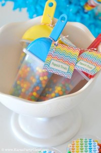 Rainbow birthday party printables party decor shop + party ideas via Kara's Party Ideas karaspartyideas.com (8)