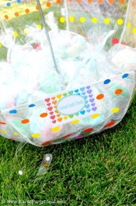 Rainbow birthday party printables party decor shop + party ideas via Kara's Party Ideas karaspartyideas.com (4)