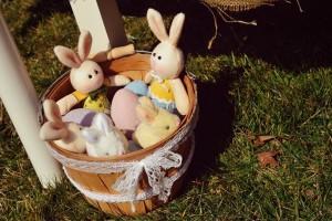 Vintage Spring Easter Egg Hunt Party via Kara's Party Ideas karaspartyideas.com #easter #spring #egg #hunt #children's #ideas #party #treats #recipes #decorations #supplies (126)