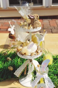 Vintage Spring Easter Egg Hunt Party via Kara's Party Ideas karaspartyideas.com #easter #spring #egg #hunt #children's #ideas #party #treats #recipes #decorations #supplies (104)