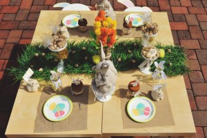 Vintage Spring Easter Egg Hunt Party via Kara's Party Ideas karaspartyideas.com #easter #spring #egg #hunt #children's #ideas #party #treats #recipes #decorations #supplies (101)