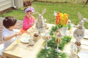 Vintage Spring Easter Egg Hunt Party via Kara's Party Ideas karaspartyideas.com #easter #spring #egg #hunt #children's #ideas #party #treats #recipes #decorations #supplies (85)