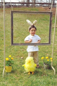 Vintage Spring Easter Egg Hunt Party via Kara's Party Ideas karaspartyideas.com #easter #spring #egg #hunt #children's #ideas #party #treats #recipes #decorations #supplies (40)