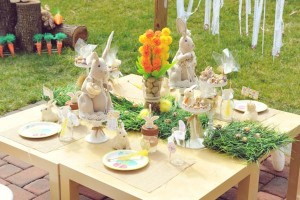 Vintage Spring Easter Egg Hunt Party via Kara's Party Ideas karaspartyideas.com #easter #spring #egg #hunt #children's #ideas #party #treats #recipes #decorations #supplies (31)