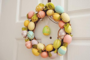 Vintage Spring Easter Egg Hunt Party via Kara's Party Ideas karaspartyideas.com #easter #spring #egg #hunt #children's #ideas #party #treats #recipes #decorations #supplies (4)