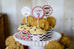Milk and cookies 2nd birthday party via Kara's Party Ideas shower party supplies shop online karaspartyideas.com (34)