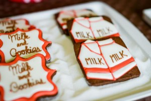 Milk and cookies 2nd birthday party via Kara's Party Ideas shower party supplies shop online karaspartyideas.com (24)