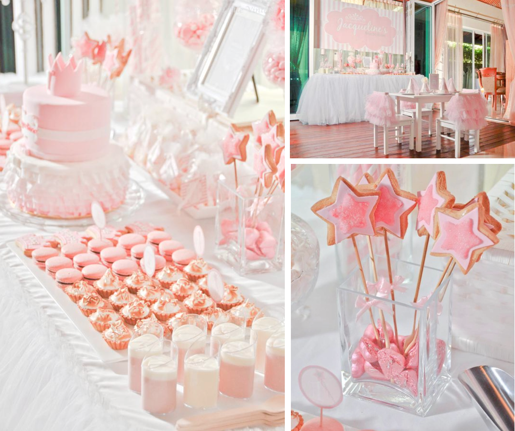 kara s party ideas daddy s little princess girl ballet 1st birthday