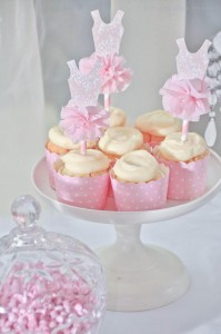 Daddy's little princess pink ballerina ballet birthday party via Kara's Party Ideas _ KarasPartyIdeas.com-11_600x903