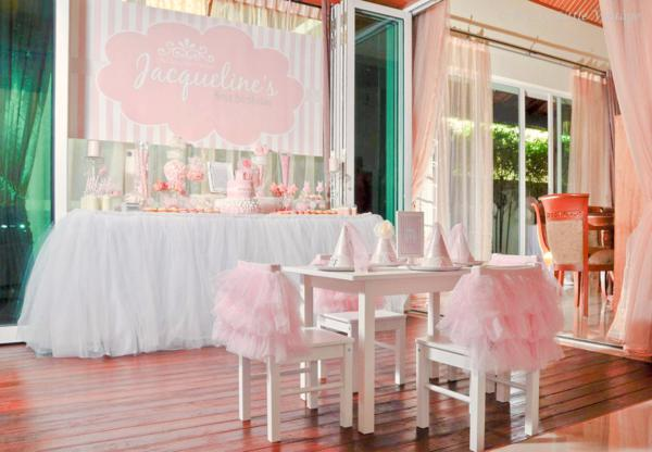 Daddy's little princess pink ballerina ballet birthday party via Kara's Party Ideas _ KarasPartyIdeas.com-13_600x416