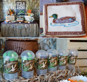 Duck Dynasty Themed birthday party via Kara's Party Ideas KarasPartyIdeas.com #duck #dynasty #show #themed #party #food #decor #ideas #cake #idea (1)