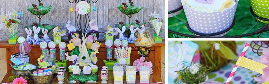 EASTER party via Kara's Party Ideas FREE PRINTABLES karaspartyideas.com #easter #party #free #printables #spring #ideas #cake #treats #idea