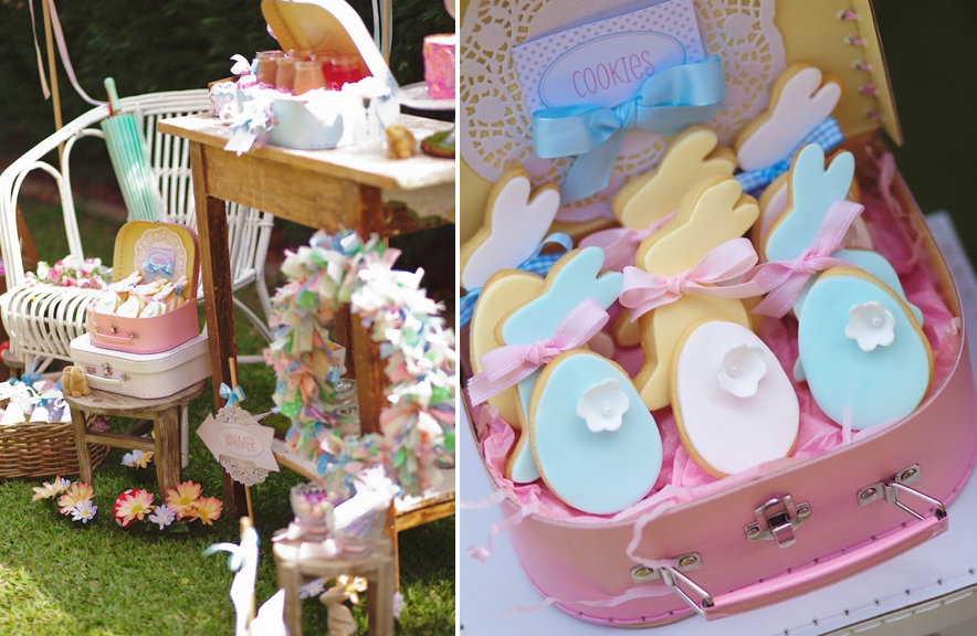 Easter Egg Hunt Play Date Party Via Karas Ideas KarasPartyIdeas Spring